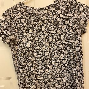 Floral T-shirt from Old Navy